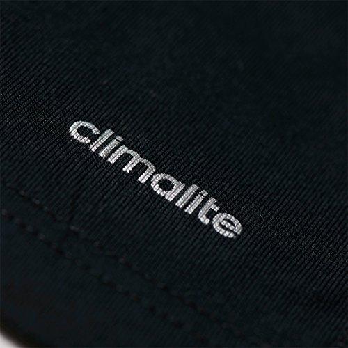 adidas Herren T-Shirt Sport Essentials Mid Black/White
