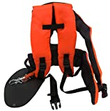 bricoferr bfk0032 - Professional Padded Harness for Brushcutter with Back Protection