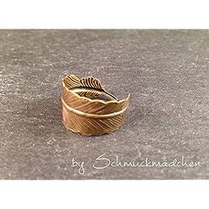 Ring Feder Bronze