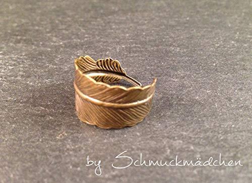 Ring Feder Bronze - Bronze Ring