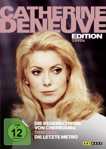 Bild von Catherine Deneuve Edition: Die Regenschirme von Cherbourg / Tristana / Die letzte Metro [3 DVDs]