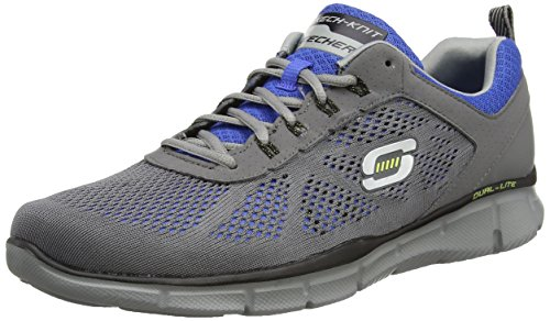 Skechers - Equalizer - Deal Maker, Sneakers da uomo grigio (charcoal/blue ccry)