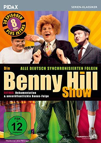 Die Benny Hill Show / Alle 38 deutsch synchronisierten Folgen der kultigen Sketchserie + Bonusfolge (Pidax Serien-Klassiker) [8 DVDs]