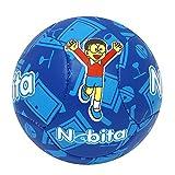 #9: Lionbuzz Blue Nobita Kids Football - Size 3, Synthetic, 1 Football and 1 Needle