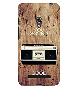 printtech Radio music Back Case Cover for Asus Zenfone 5::Asus Zenfone 5 A500CG