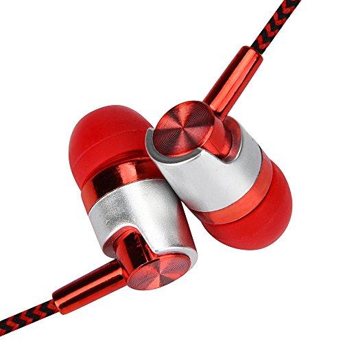 MIRRAY 点击图标下载 App 71/5000 Auriculares estéreo de 3,5 mm para Auriculares universales en la Oreja con micrófono para teléfono Celular