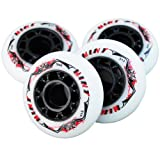 8 St. Mint Inline Skate Race Speed Rollen - 76mm 84 A - High Rebound!