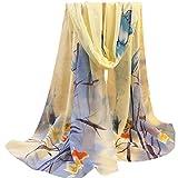 Search : Woman Chiffon Scarf, KEERADS Ladies Floral Pattern Print Long Scarves Neck Scarf Shawl Wrap