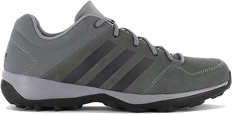 adidas Daroga Plus Leather Herren Outdoor Schuhe Grau Leder Wanderschuhe Trekking