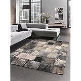 Alfombra Salón decoratif Elegant 04alfombra moderna diseño moderno, gris, 120 x 170 cm