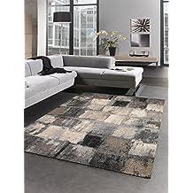 alfombra saln decoratif elegant alfombra moderna diseo moderno gris