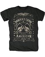 Johnny Cash Herren T-Shirt - American Rebel