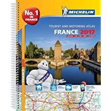 France 2017 Atlas (Michelin Tourist and Motoring Atlases)
