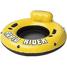 Bestway Rapid Rader - Flotador adulto con respaldo, 135 cm