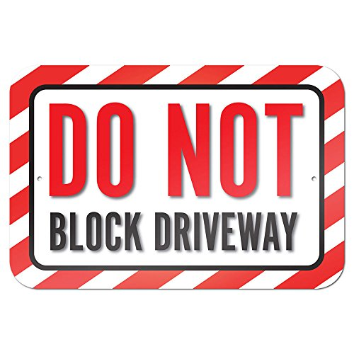 graphics-and-more-229-x-152-cm-do-not-block-driveway-metal-sign-board