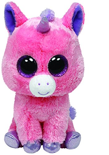 Beanie Boo Unicorn - Magic - Pink - 15cm 6""