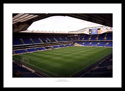Framed-White-Hart-Lane-Stadium-Tottenham-Hotspur-Photo-Memorabilia