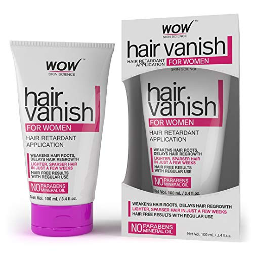 WOW Hair Vanish For Women - No Parabens & Mineral Oil (100ml)