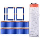 HB 1Pack 18-Pfeile Clip Magazin + 100Pack Darts Pfeile Zubehör für Nerf Serie