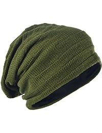 Amazon.es  gorros verdes - Gorros de punto   Sombreros y gorras  Ropa 3d6f60d8292