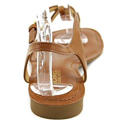 Michael Michael Kors Bethany Femmes Cuir Sandale Luggage