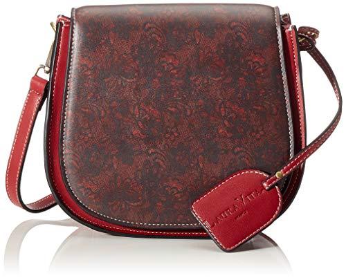 Laura Vita 2993 - Borse a tracolla Donna, Rosso (Rot (Rouge)), 8x19x22 cm (B x H T)