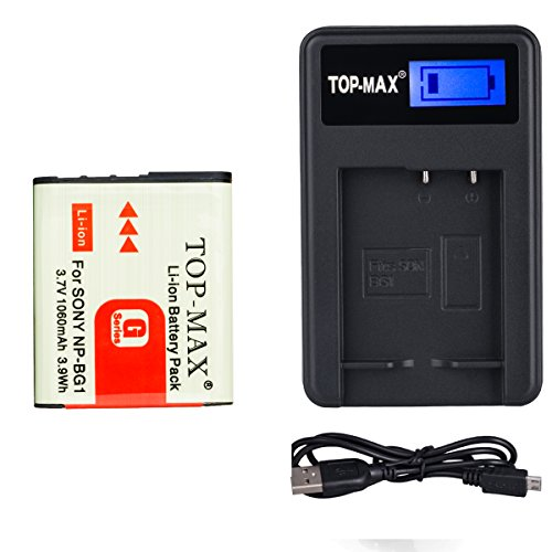 top-maxr-np-bg1-np-fg1-battery-usb-charger-for-sony-cyber-shot-dsc-h3-dsc-h7-dsc-h9-dsc-h10-dsc-h20-
