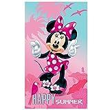 Disney Minnie Badetuch Baumwolle Mehrfarbig 70 x 120 cm