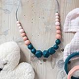 Collier de portage et d'allaitement - Cadeau de naissance pour maman