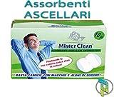 Palucart® assorbenti ascellari sudore ascelle tamponi ascellari 120 pezzi traspirante anti odore