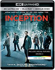Inception (4K UHD & HD) (3-Disc Box Set)