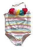 Fashion Kidswear Baby Mädchen Badeanzug, Mehrfarbig