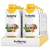 foodspring CocoWhey mit Mango, 12x330ml, Erfrischender Protein-Drink mit Kokoswasser, Hergestellt in Deutschland mit sorgfältig ausgewählten Rohstoffen