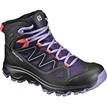 Salomon cruzano GTX W Talla 391/3(UK 6) exterior Guantes Boots Trail Mujer