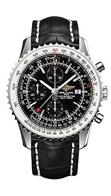 Breitling Navitimer World Gmt Mens Watch A2432212/B726