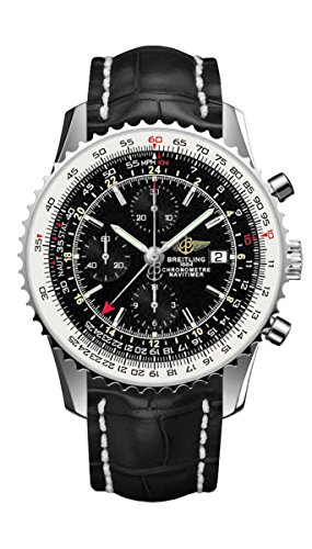Breitling Navitimer World Gmt Mens Watch A2432212/B726