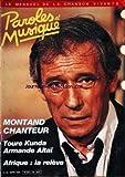 PAROLES ET MUSIQUE [No 48] du 01/03/1985 - YVES MONTAND - TOURE KUNDA - ARMANDE ALTAI - AFRIQUE - LA RELEVE.