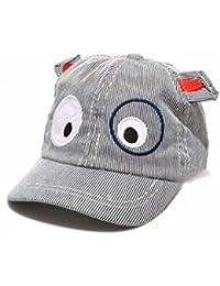 FEITONG Sombrero de los niños Bordado suave de la malla del verano Sombrero de sol flanging Gorra de beisbol