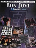 Bon Jovi -- Easy Guitar Anthology: 20 Greatest Hits (Easy (EZ) Guitar Anthology) by Bon Jovi (2001-12-01)