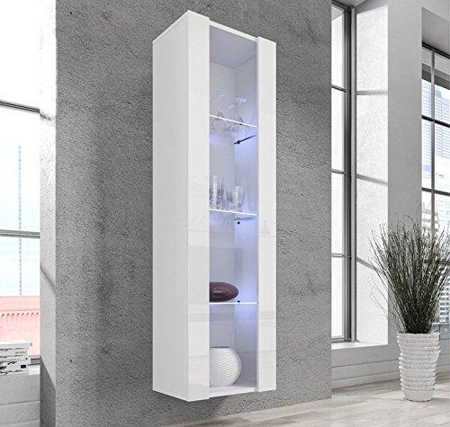 muebles bonitos Armario Colgante modelo Capri en color Blanco