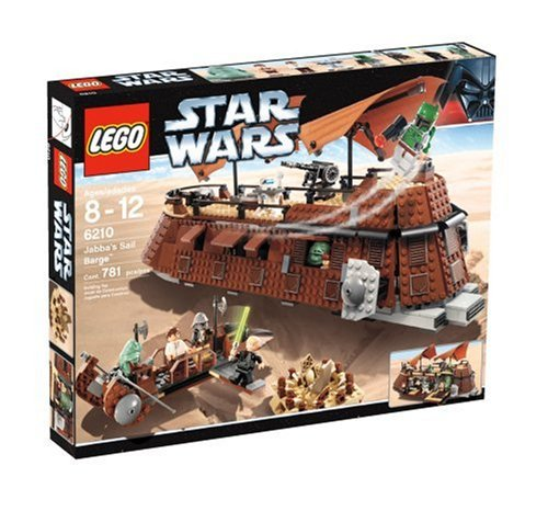 Lego 6210 Star Wars Jabba\'s Sail Barge by LEGO