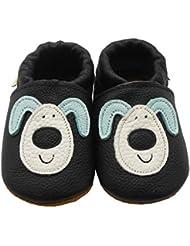 Sayoyo Suaves Zapatos De Cuero Del Bebé Zapatillas perro