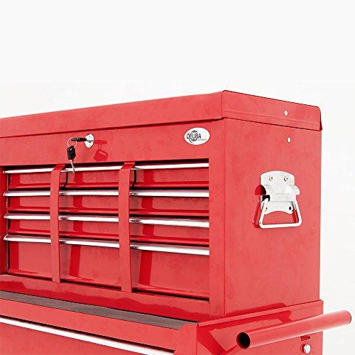 Deuba Werkstattwagen mit Werkzeugkiste – Modell 2016 - 6
