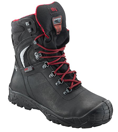 Cofra Skibus S3 CI SRC Black Steel Toe Cap Waterproof Winter Work Safety Boots (UK 9) Black Steel Toe Work Boot