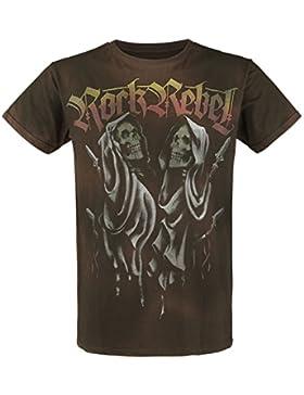 Rock Rebel by EMP Reaper Camiseta Marrón S