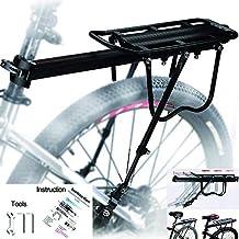 MAIKEHIGH Ajustable Carrier Trasera para Bicicleta portaequipajes Bicicleta Accesorios Soporte de Equipo Footstock Bicicleta Portador Estante