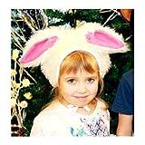 Bonnet de Lièvre Lapin Déguisement de Carnaval Chapeau avec Oreilles Costume des Animaux pour les Enfants Garçons Filles Fête Soirée Carnaval Taille S/M
