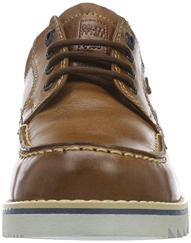 Fretz Men Lee, chaussures à lacets  homme Marron - Braun (39 caramel)