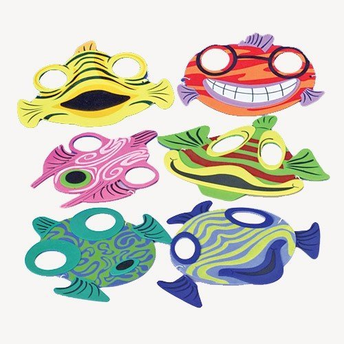 us-toy-company-1431-fish-foam-masks
