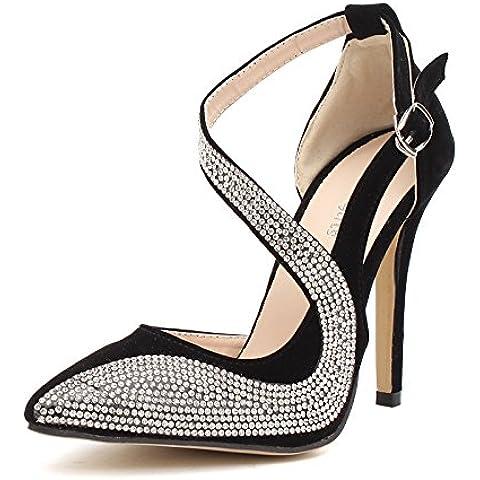 CBIN&HUA Boda zapatos tacones Womens zapatos de tacón rojo de la boda / fiesta y noche , apricot , 37